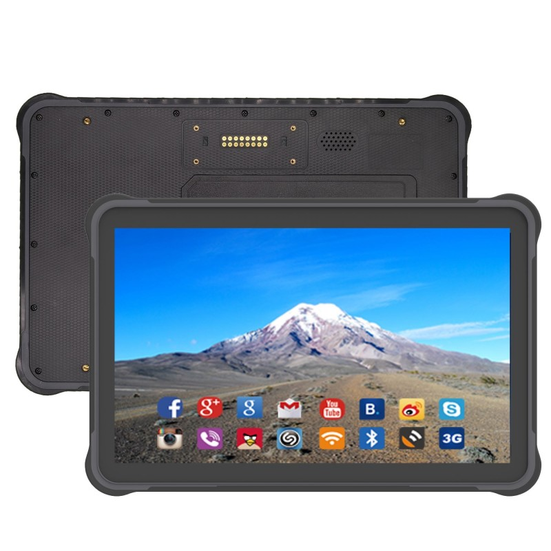 Rugged tablette 10.1 pouce android 7.0  3 GB RAM + 32GB ROM,1920 * 1200 résolution NFC