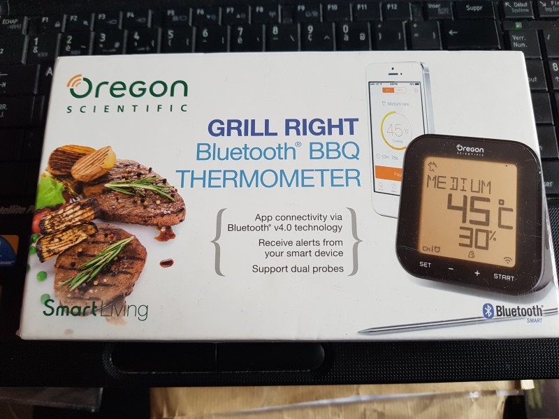 THERMOMETRE GRILL BLUETOOTH